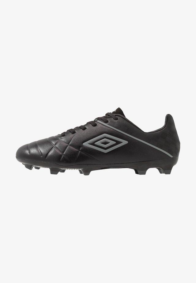 MEDUSÆ III PREMIER FG - Moulded stud football boots - black/carbon