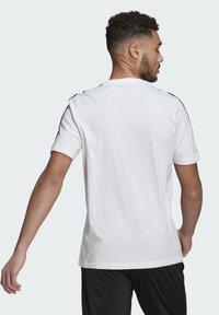 adidas Performance - T-shirt imprimé - white/black - 1