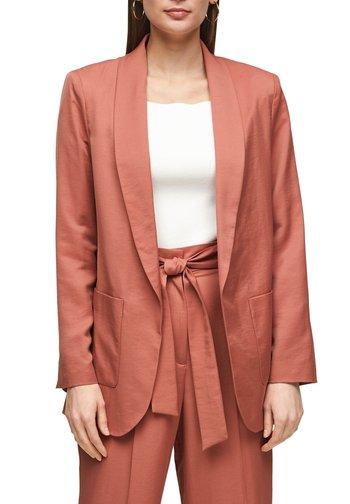 Short coat - dusty apricot