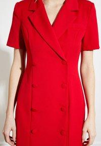 Trendyol - PARENT - Shirt dress - red - 4