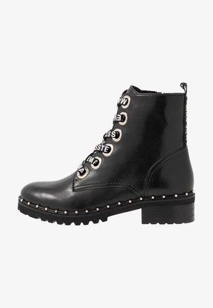 TESS - Šněrovací kotníkové boty - black