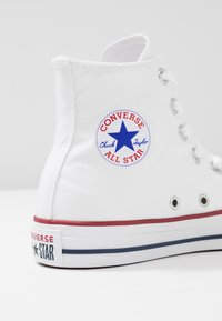 Converse - CHUCK TAYLOR ALL STAR HI - Korkeavartiset tennarit - white - 6