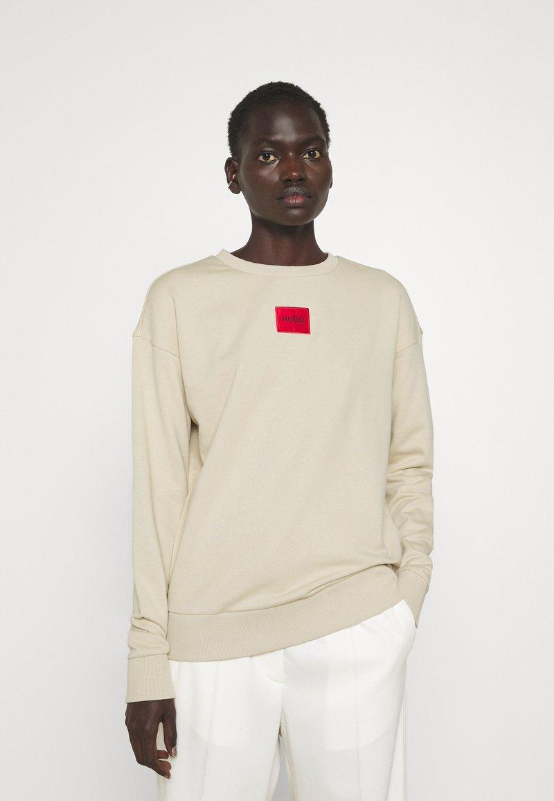 HUGO - NAKIRA REDLABEL - Bluza - light beige