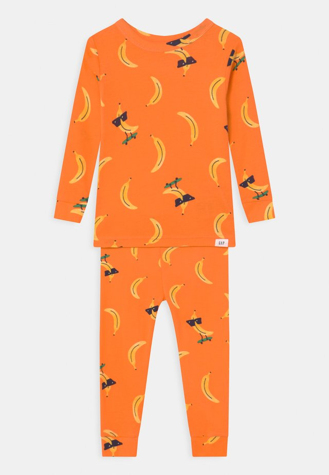 TODDLER BANANA UNISEX  - Pyjama set - orange peel
