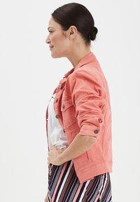 Fransa - FRIVTWILL  - Denim jacket - shell pink - 3