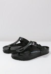 Birkenstock - GIZEH - Pool shoes - black - 2