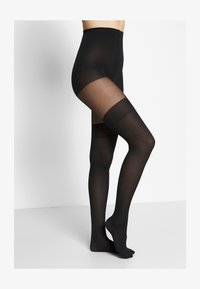 Swedish Stockings - DAGMAR OVERKNEE TIGHTS - Collant - black - 1