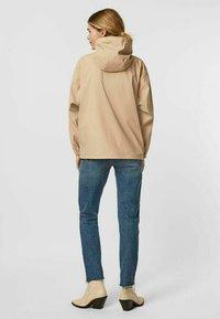 Vero Moda - Zip-up sweatshirt - beige mottled beige - 2