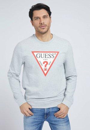 FELPA TRIANGOLO LOGO - Sweatshirt - grigio