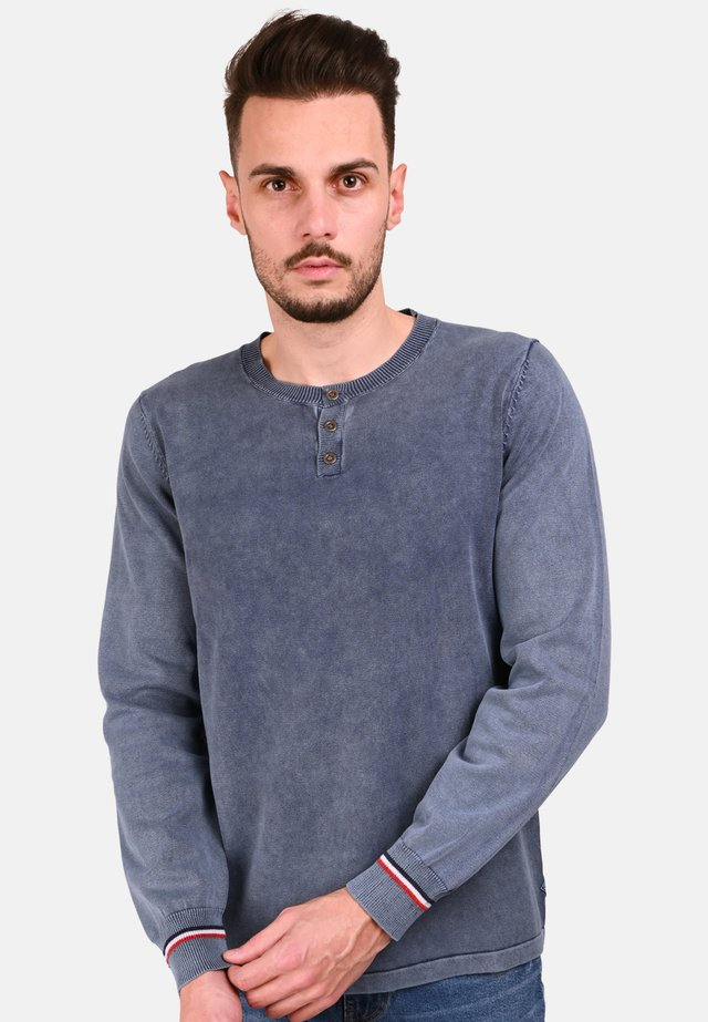 PICAME - Long sleeved top - blue