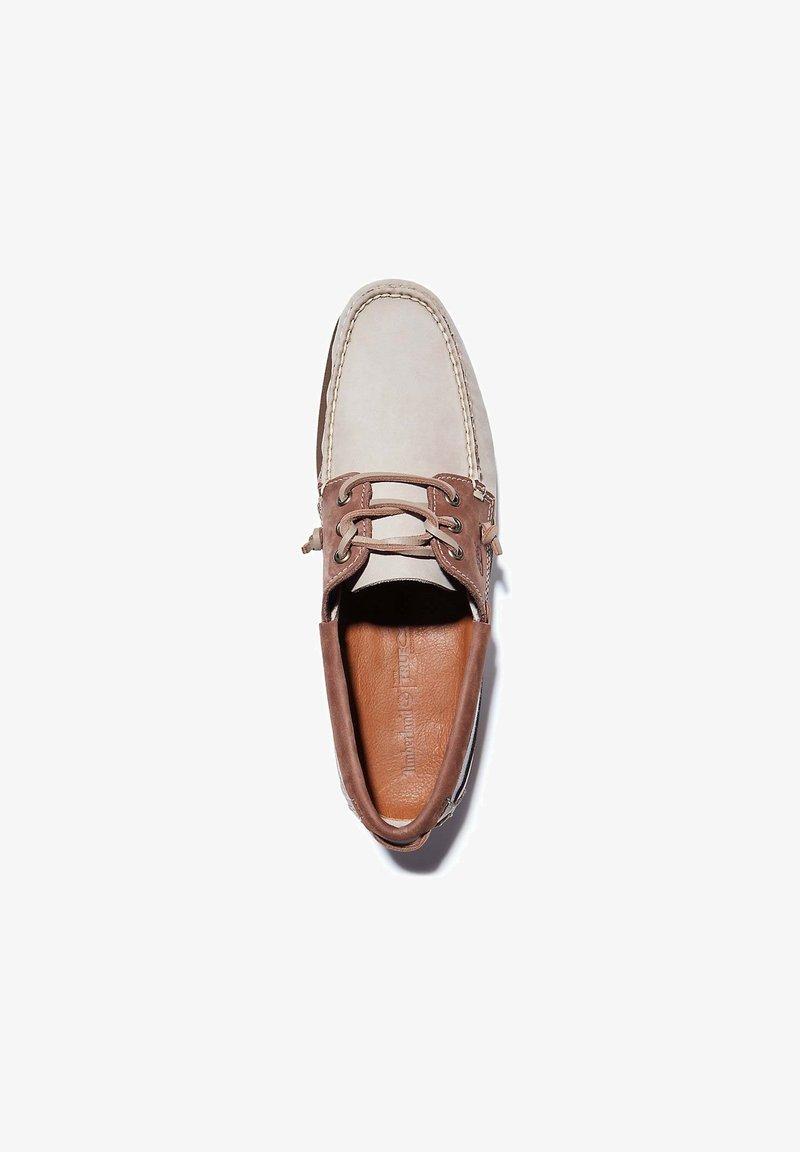 Timberland - ATLANTIS BREAK L/F BOAT - Boat shoes - humus