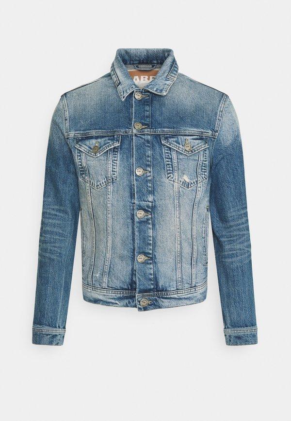 Gabba DAVE - Kurtka jeansowa - dark-blue denim/ciemnoniebieski Odzież Męska ORCX