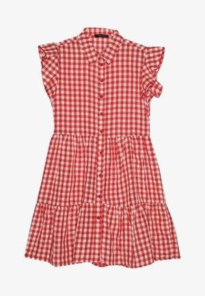 Skjortklänning - red