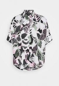 LUCA BLOUSE - Button-down blouse - white