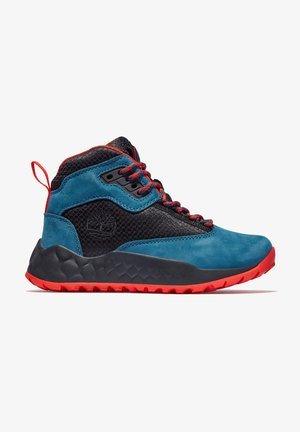 SOLAR WAVE MID - High-top trainers - majolica blue