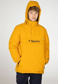 Protest - DYLAN JR  - Snowboard jacket - dark yellow - 2