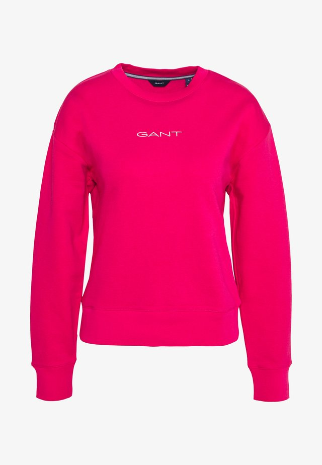 STRIPES C NECK - Sweatshirt - love pink