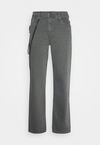PANTS - Relaxed fit -farkut - iron gate
