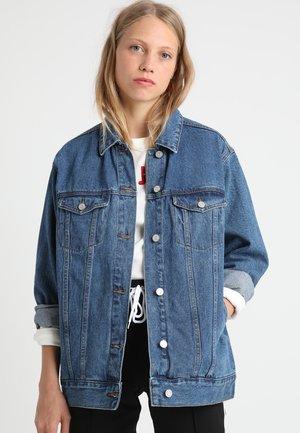 OVERSIZED JACKET - Halflange jas - vintage blue