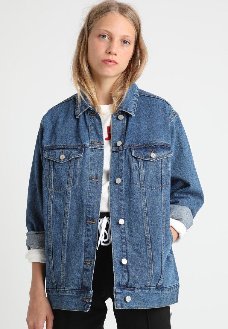 Missguided Tall - Denim jacket - vintage blue