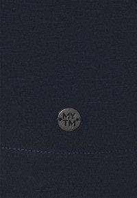 MY TRUE ME TOM TAILOR - WITH PLACKET - Print T-shirt - sky captain blue - 2