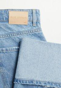 Mango - Straight leg jeans - lichtblauw - 6
