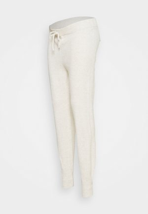 LOUNGE JOGGER - Tracksuit bottoms - oatmeal