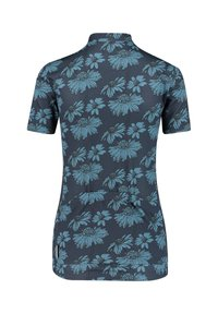 Maloja - Print T-shirt - marine - 2