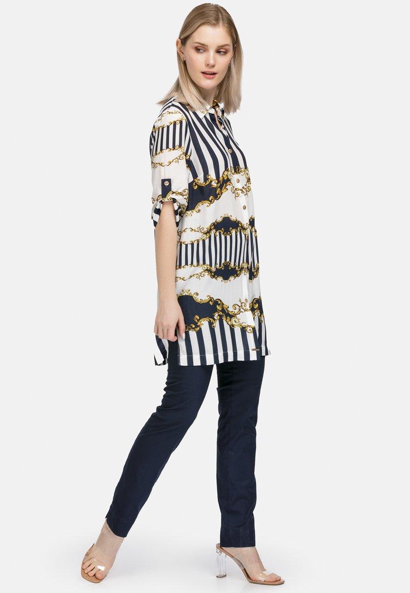 HELMIDGE - Button-down blouse - weiss