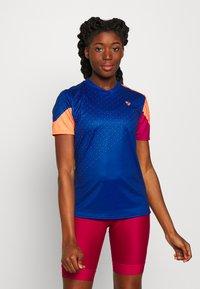 Ziener - NISHI - T-Shirt print - nautic - 0