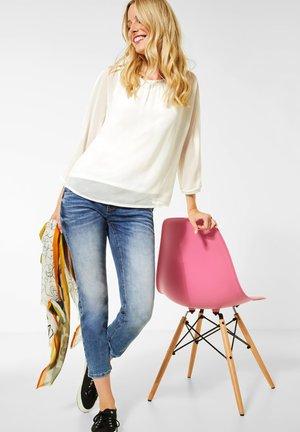 CHIFFON-SHIRT - Bluse - weiß
