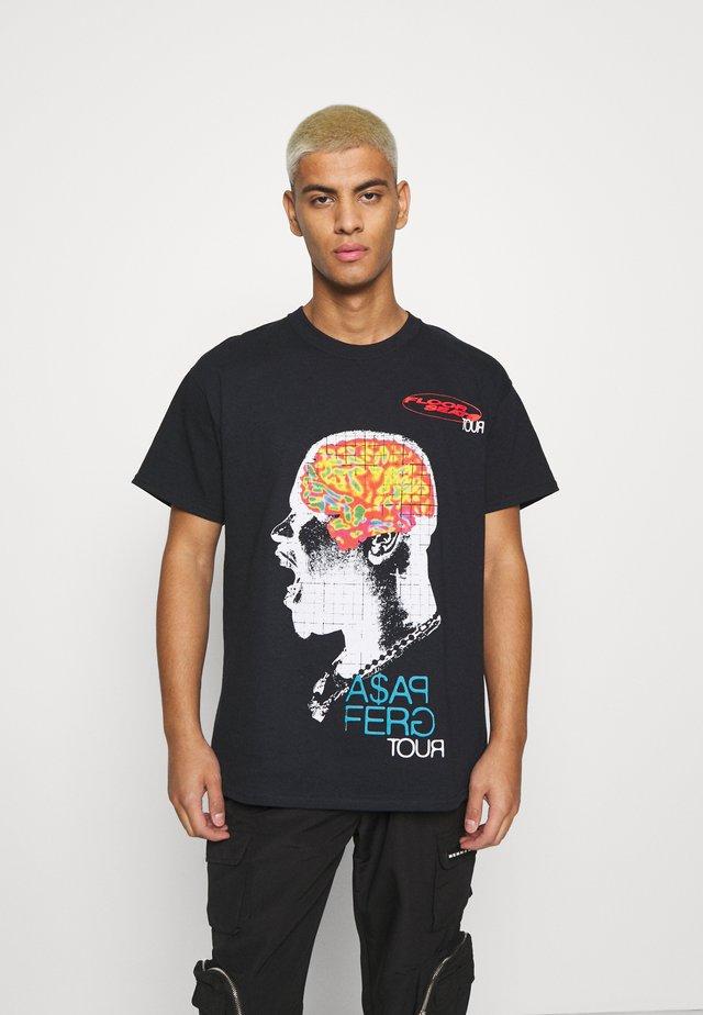 A$AP FERG FLOOR SEATS TOUR  - T-shirt con stampa - black