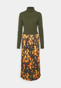 ORANGES TOP SLIP DRESS - Vestido largo - orange