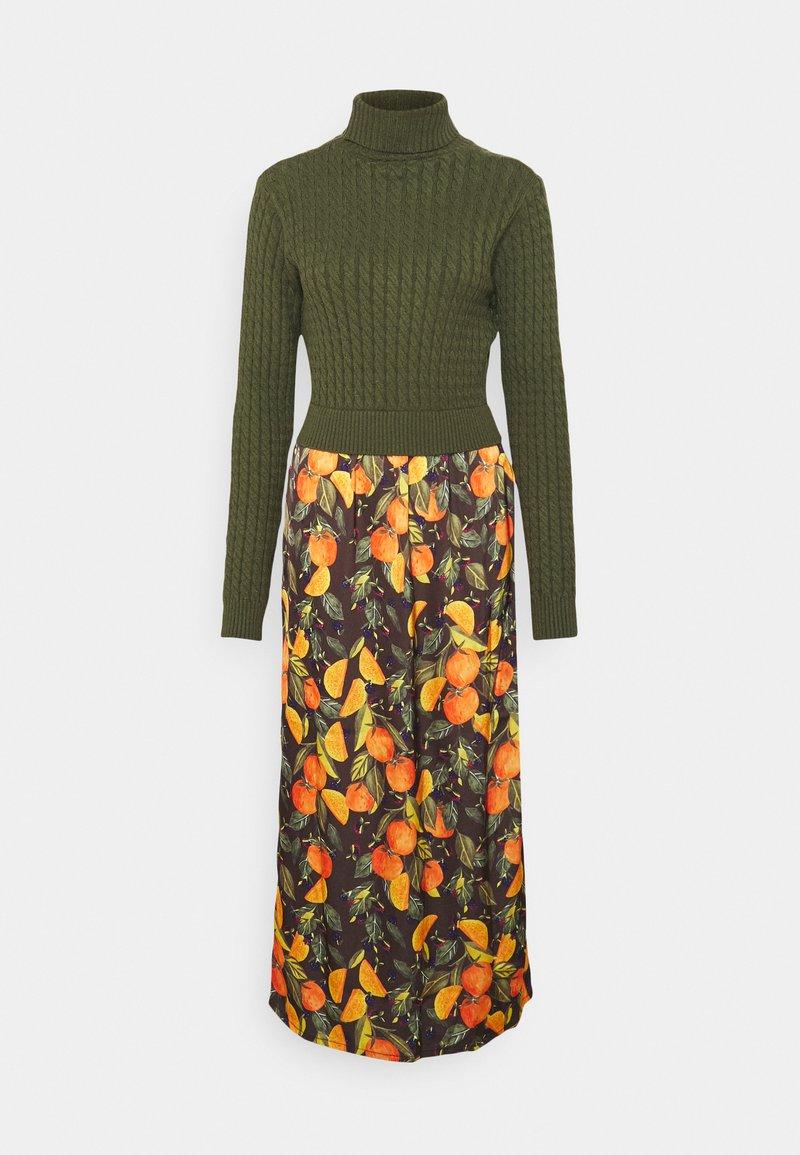 Never Fully Dressed Tall - ORANGES TOP SLIP DRESS - Maksimekko - orange