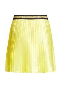 WE Fashion - Pleated skirt - yellow - 1