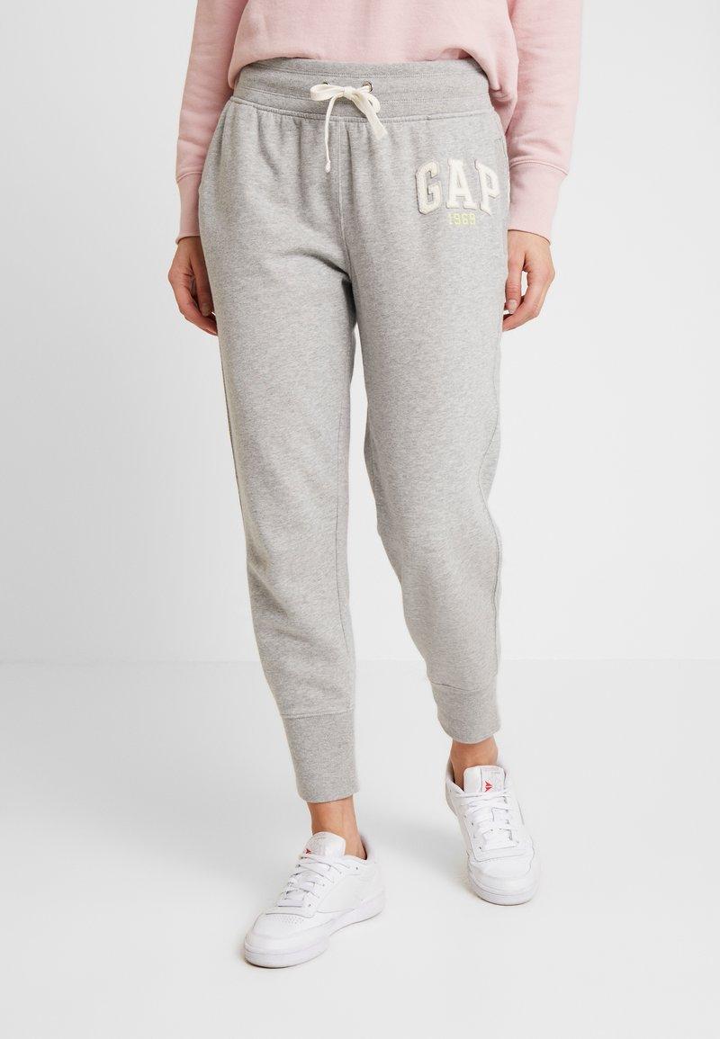 GAP - GAP LOGO - Teplákové kalhoty - light heather grey