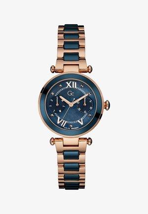Horloge - blue rose gold