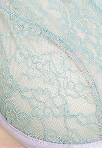 Dora Larsen - IRIS HIGH APEX UNDERWIRE - Triangle bra - light pastel green - 2