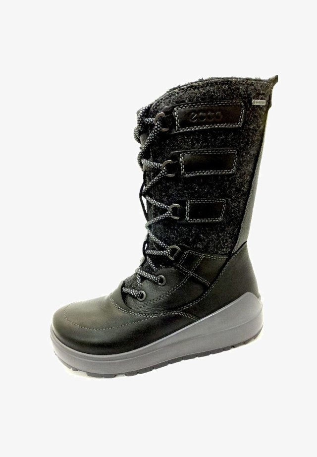 ECCO - Lace-up boots - schwarz