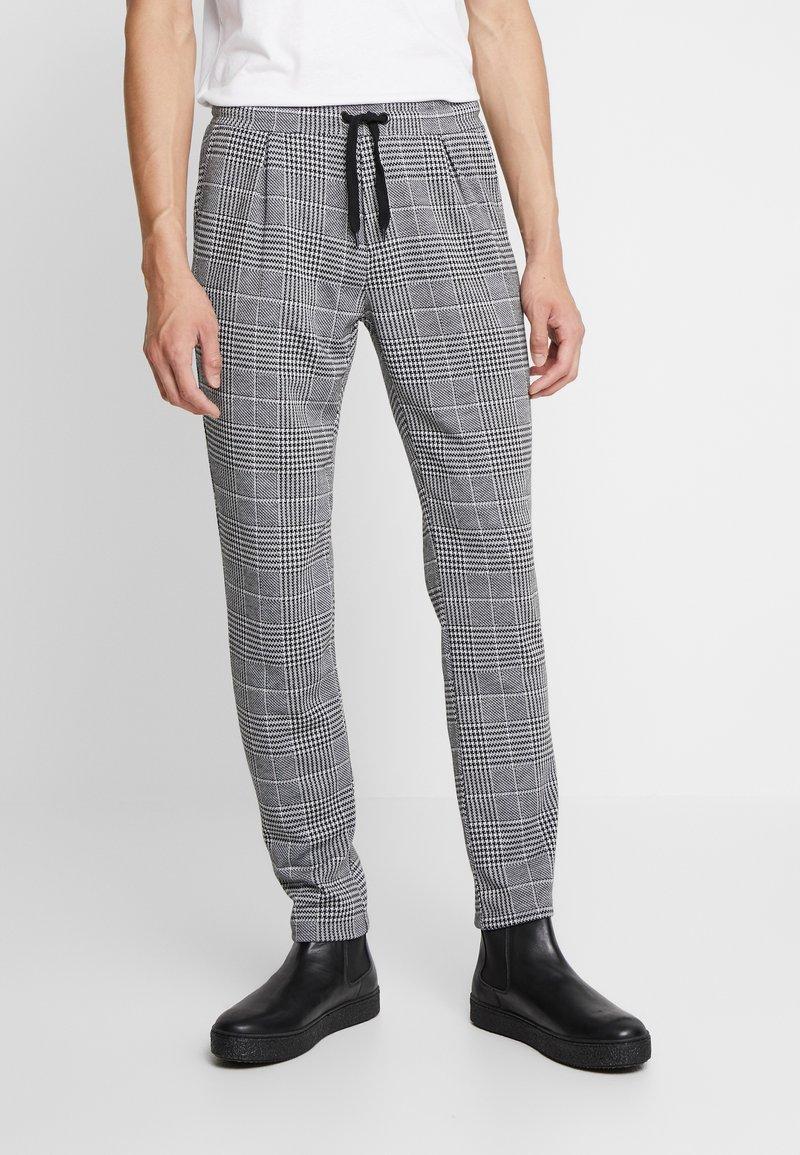 Zign - Kalhoty - white/black