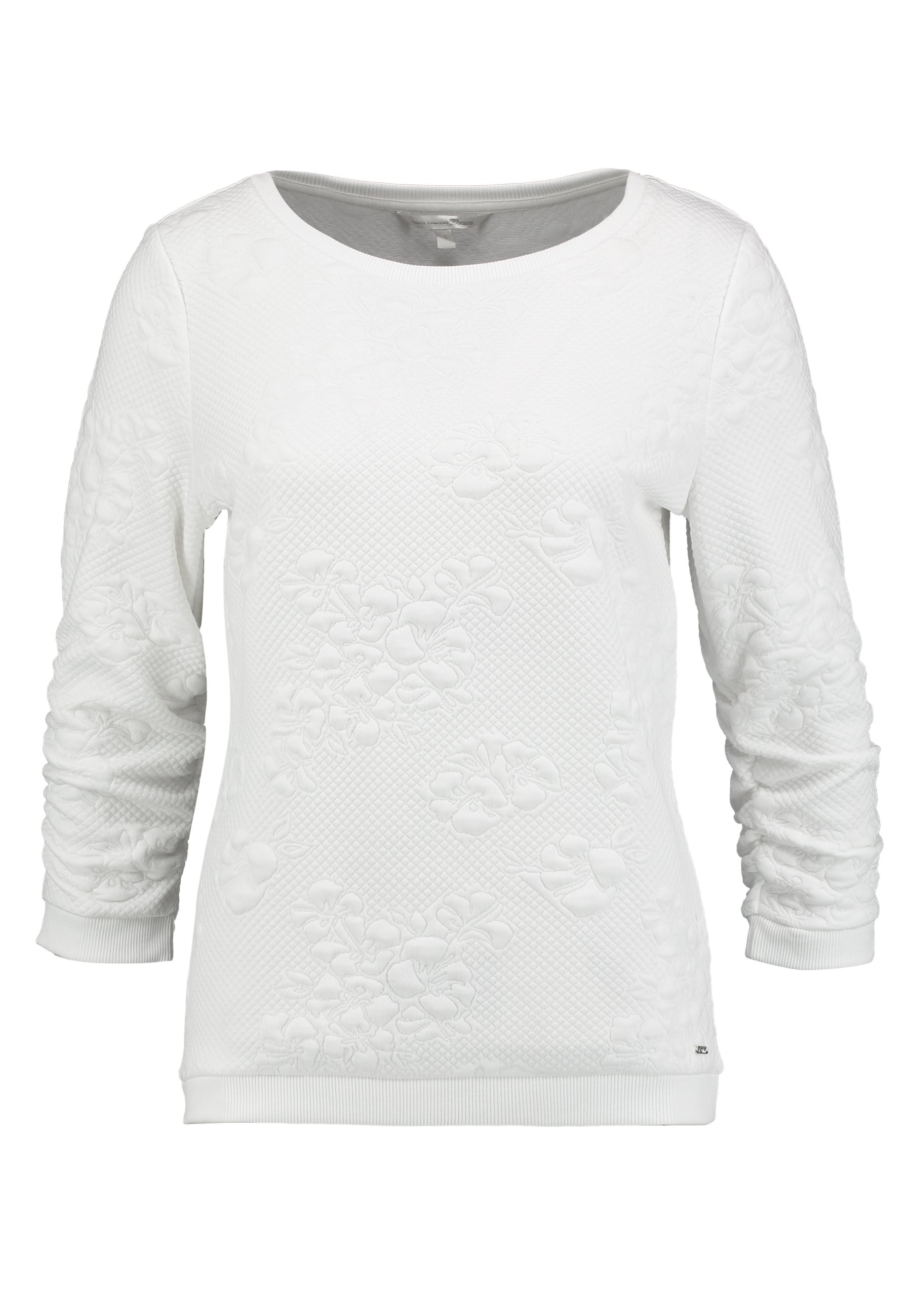 TOM TAILOR DENIM FLOWER Sweater off white Zalando.nl