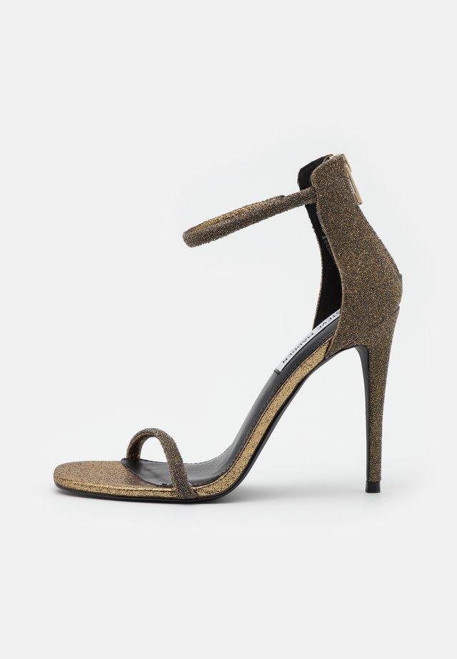 RAPTURE - Sandales à talons hauts - gold