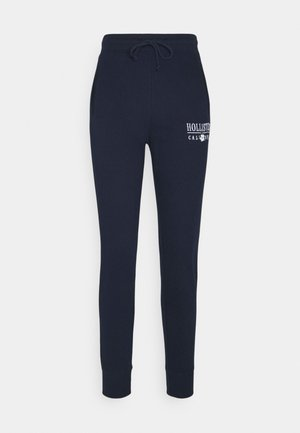 LOGO - Teplákové kalhoty - navy