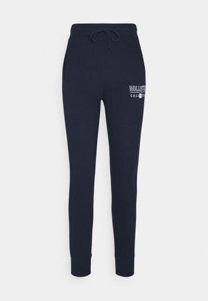 LOGO - Pantalones deportivos - navy
