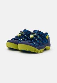 Keen - NEWPORT H2 UNISEX - Walking sandals - blue depths/chartreuse - 1