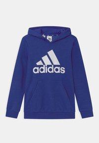 adidas Performance - Jersey con capucha - royal blue/white - 0