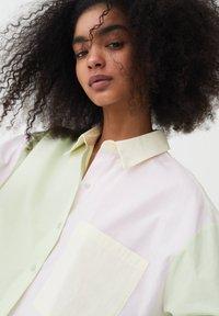 PULL&BEAR - Button-down blouse - mottled light pink - 3