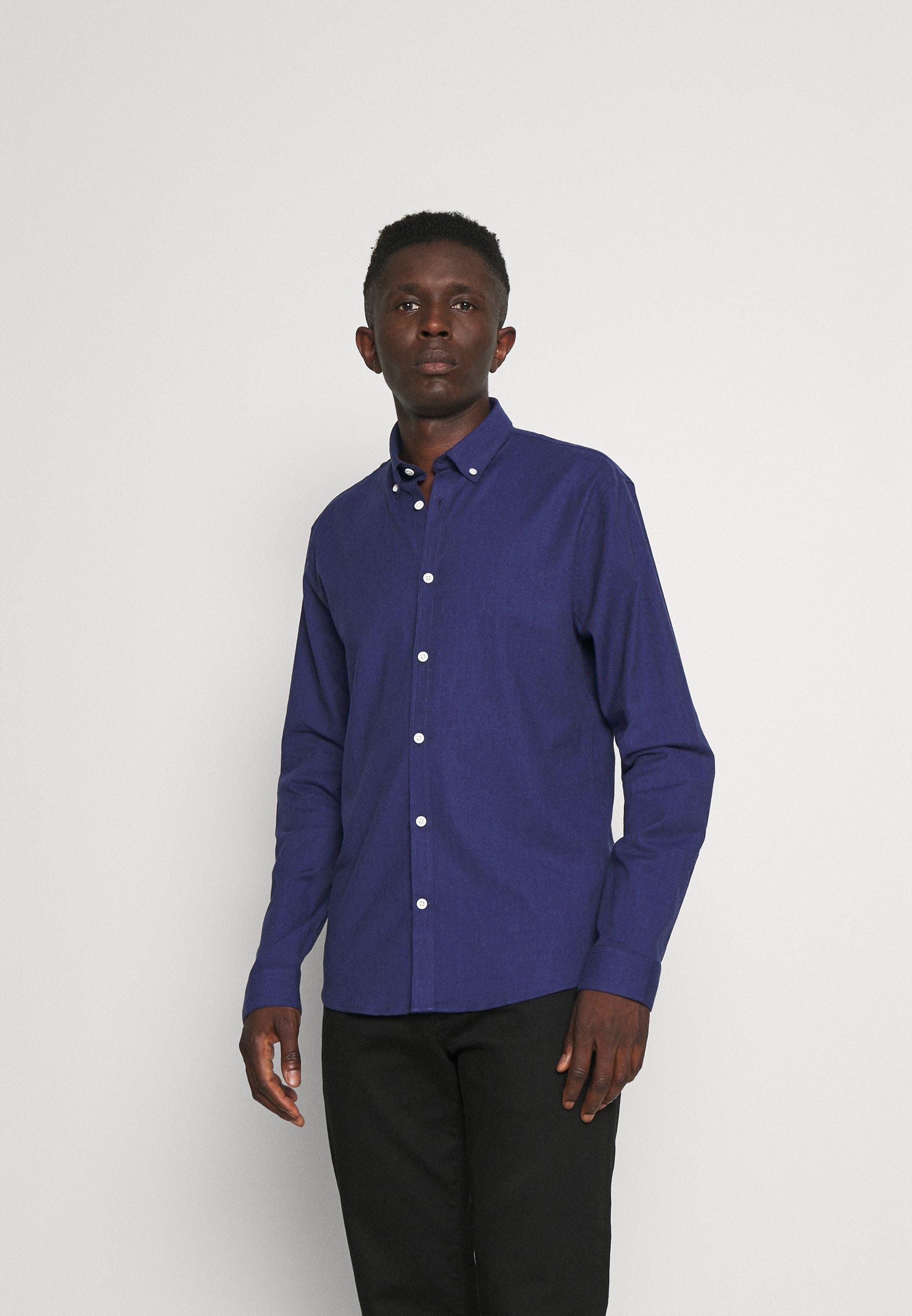 Uomo HERRINGBONE SHIRT - Camicia