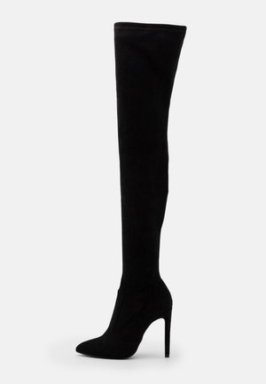 MARJORIE - High heeled boots - black