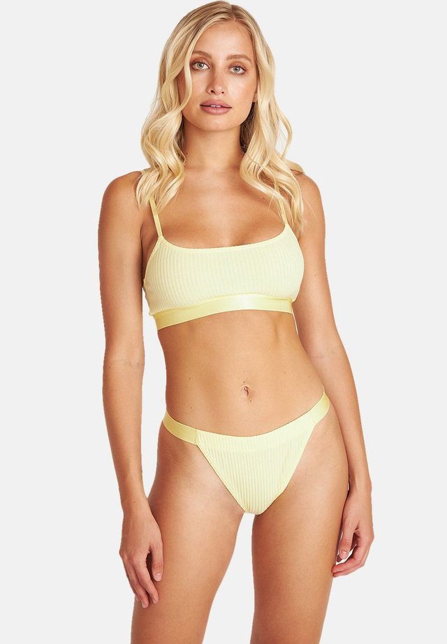 Bustier - yellow